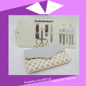 Manicure Set Nail Tool Nail Manicure Set Nail Bag (BH-032) pictures & photos