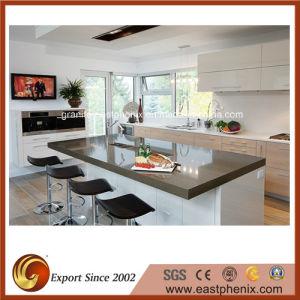 Natural Quartz Stone Kitchen Countertop pictures & photos