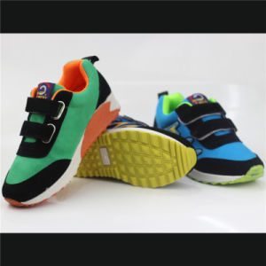 Kids Shoes Injection Sport Shoes with Magic Tap (snc-230025) pictures & photos