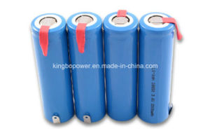 Lithium Ion Batteries 18650 Li-ion Battery for Solar Power System pictures & photos