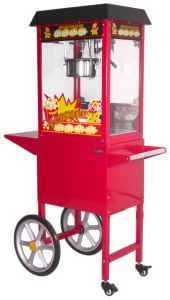 Fully Stainless Steel Wheeled Popcorn Machine pictures & photos
