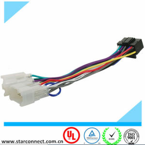 16 Pin to ISO Headunit Lead Car Wiring Radio Loom pictures & photos
