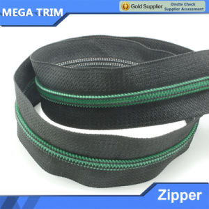5# Green Teeth Nylon Zipper pictures & photos