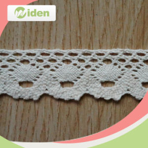 Water Soluble Cotton Crochet Lace Trimming pictures & photos
