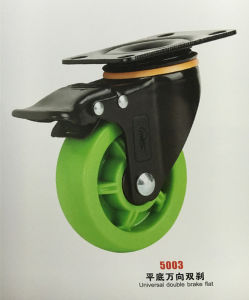 High Quality Green Castor Wheel pictures & photos