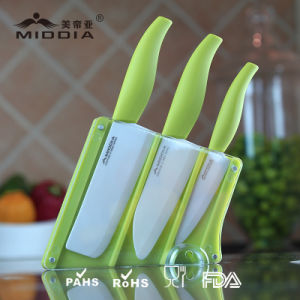 Kitchenware for Ceramic Kitchen Knife Set with Block pictures & photos