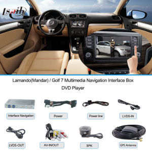 Golf 7! ! ! GPS Interface Box for VW Lamandotouch Navigation, USB, HD Video, Audio, Rear pictures & photos
