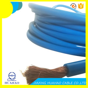 High Quality 2AWG Car Battery Cable with Blue PVC Sheath pictures & photos