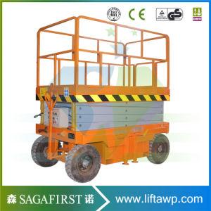 6m-12m Electric Towable Lift Aerial Work Man Lift Platform pictures & photos