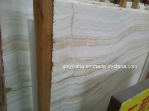 Natural Beige Marble Onyx Slab for Wall Stone Tiles pictures & photos