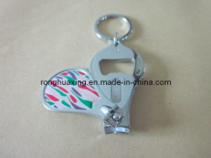 Toe Nail Cutter with Key Holders and Bottle Opener N-628bcv pictures & photos