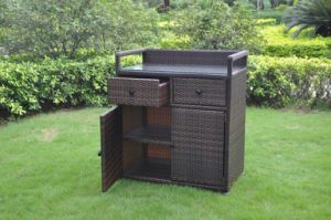 PE Rattan Patio Storage Box Furniture Outdoor (B0014)