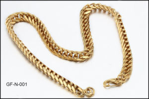 Gold Plating Stainless Steel Fashion Necklace pictures & photos