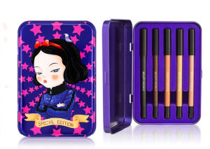 Hinged Metal Tins for Eyeliner and Mascara pictures & photos