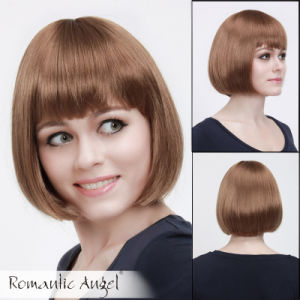 Straight Fashion Brown Color Bob Wigs pictures & photos