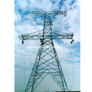 Power Plant / Angle Steel Tower / Transmission Tower / Mild Steel / Galvanized Steel (STC-T001)