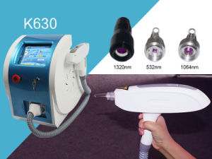 Keylaser Q-Switch ND YAG Laser Tattoo Removal pictures & photos