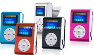 Promotional Clip OLED Mini MP3 Player pictures & photos