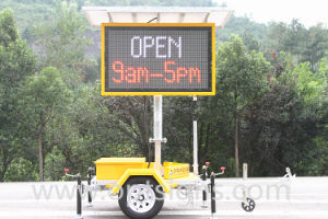 Outdoor Solar Power LED Advertising Display pictures & photos