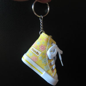 Canvas Shoe Key Ring/Key Chain, Elegant Keychain pictures & photos