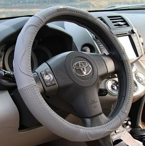 Bt 7234 Innoxious and Real Cowhide Wear-Resisting Boutique Steering Wheel Cover pictures & photos