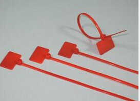 Red Nylon Marker Cable Ties with PA66 pictures & photos
