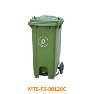 Wheeled Industrial Plastic Waste Bin/ Dustbin pictures & photos