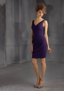 Discount Slim Bridesmaid Fashion Dresses (FD14004) pictures & photos