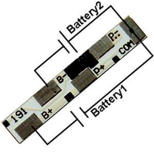 2s Li-ion Li-Polymer LiFePO4 Battery BMS PCM-Li02s3-191 pictures & photos