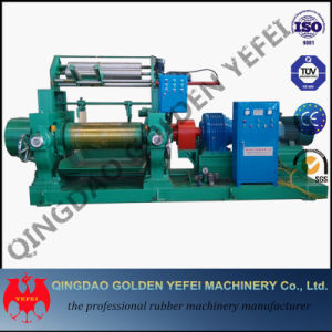 China Manufacture Two Roll Open Mixing Mill with Stock Blender pictures & photos