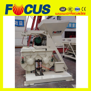 Cheap Price Js500 500L Mini Concrete Mixer Machine with Two Horizontal Shaft pictures & photos