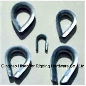 Galvanized Carbon Steel Bs464 Wire Rope Thimble pictures & photos