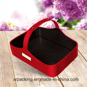 New Elegant High-End Custom PU Leather Paper Tissue Box pictures & photos