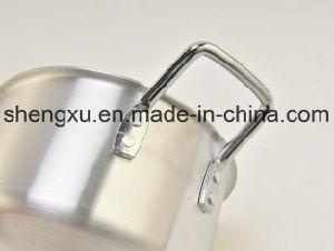 Alloy Aluminium Coated Non-Stick Sanding Pot Cookware Sets Sx-A007 pictures & photos