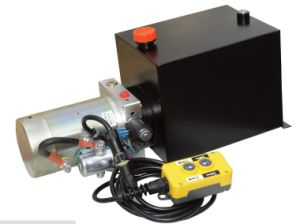 12 Volt Single-Acting Dump Trailer Power Unit pictures & photos