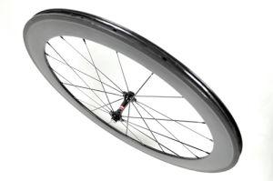 700c 60mm Clincher Full Carbon Road Bike Wheels