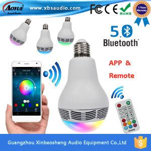 LED Bluetooth Speaker Bulb B22 E27