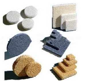 Ceramic Foam Filter for Metal Casting (Materials: SiC, Alumina, Zirconia) pictures & photos