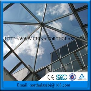 Irregular Shape Safety Glass for Skylight Roof pictures & photos