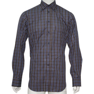 Men′s Dress Shirts Without Pocket HD0022