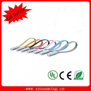 15-30cm Colorful Bracelet Micro USB Data Cable pictures & photos