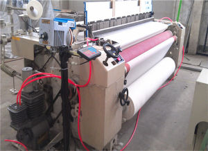 150 Plain Medical Gauze Making Air Jet Loom with Bulit-in Air Pump pictures & photos