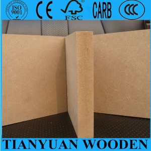1220*2440mm Plain MDF/Raw MDF/Nature MDF pictures & photos