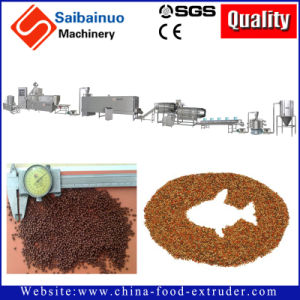 Floating and Sinking Fish Food Making Facility Making Machine