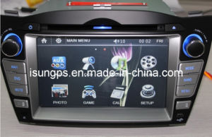 2 DIN 7 Inch Car Radio GPS for Hyundai Ix35, New Tucson (TS7255)
