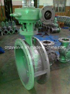 D343h-Dn500 Worm Gear Operated Buttterfly Valve pictures & photos