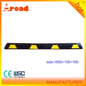 Traffic Facility Rubber Wheel Stopper pictures & photos