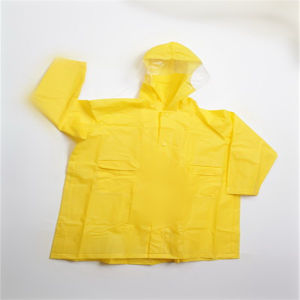 Children′s EVA Raincoat Waterproof Branded Clothing Factory pictures & photos