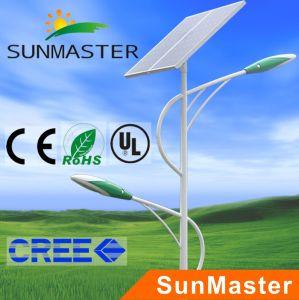 100W Solar Street Light (STL05-60W+40W) pictures & photos