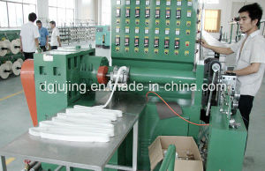 Silicone Gel Cable Rubber Wire Extrusion Line pictures & photos
